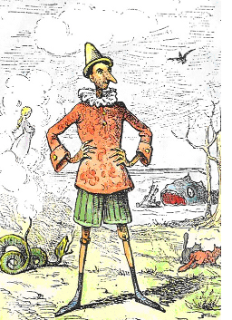 Pinocchio by Enrico Mazzanti (1852-1910)