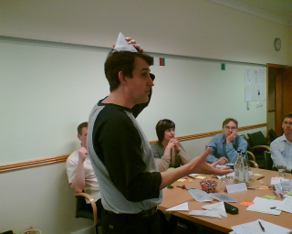 One of the six thinking hats